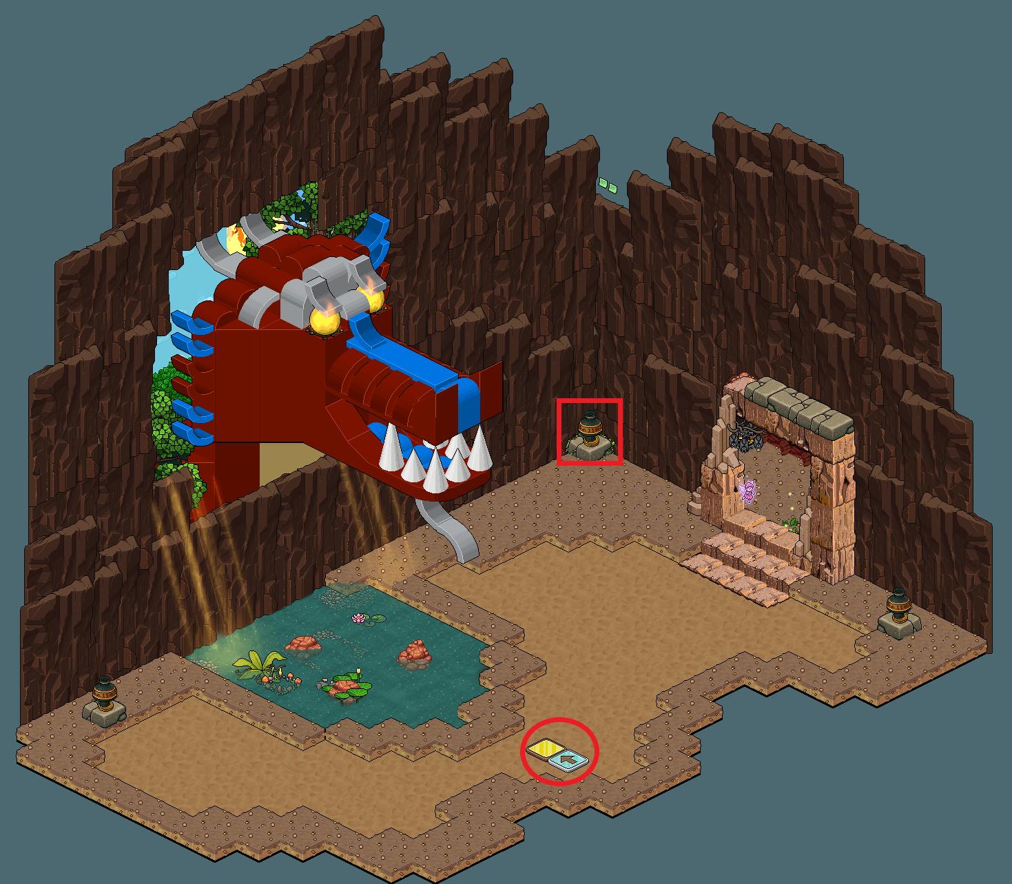Zelba - Caverne du Dragon