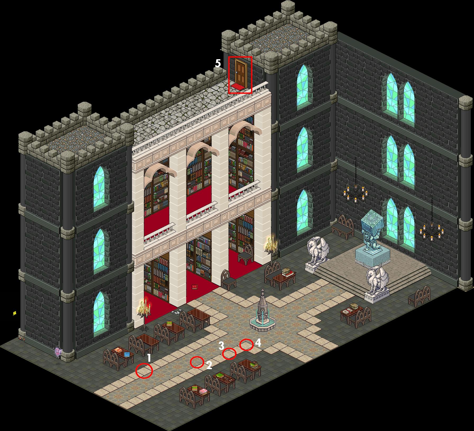 Zelba - Bibliothèque