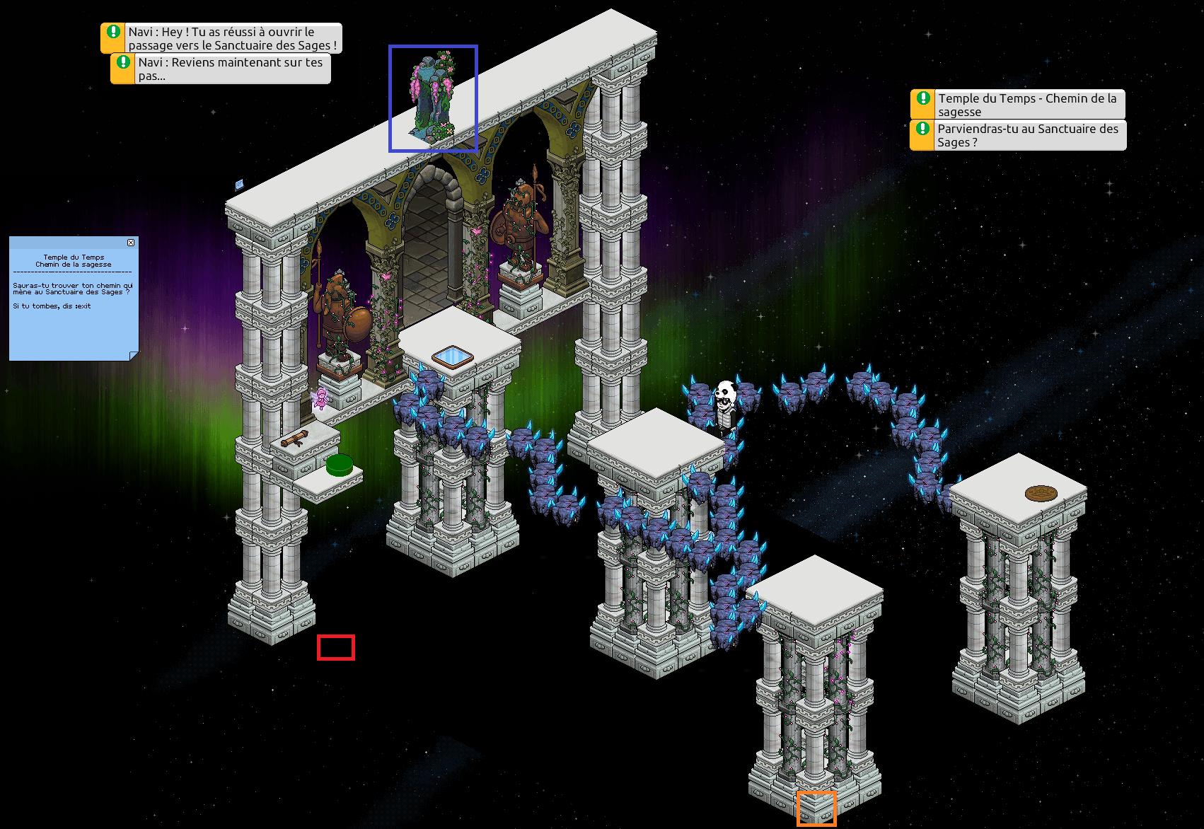 Zelba - Temple du Temps - Chemin de la sagesse