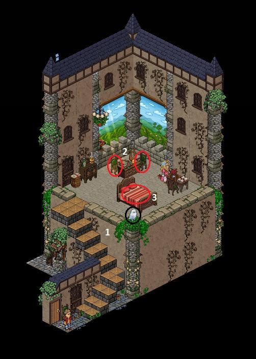 Zelba - La Tour du château