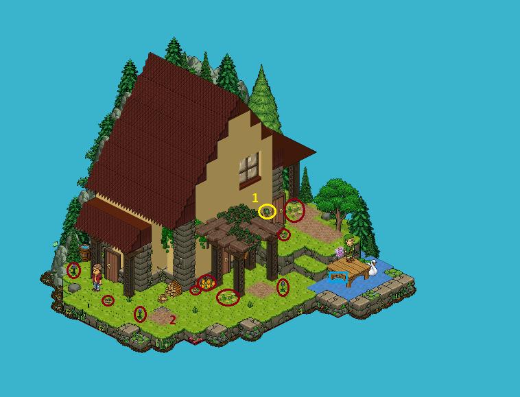 Zelba - Ile de l'Aurore - Maison de Link