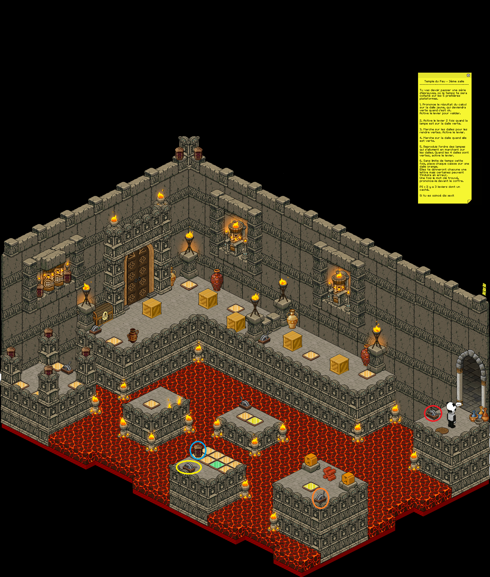 Zelba - Temple du feu 3 (Partie 1)