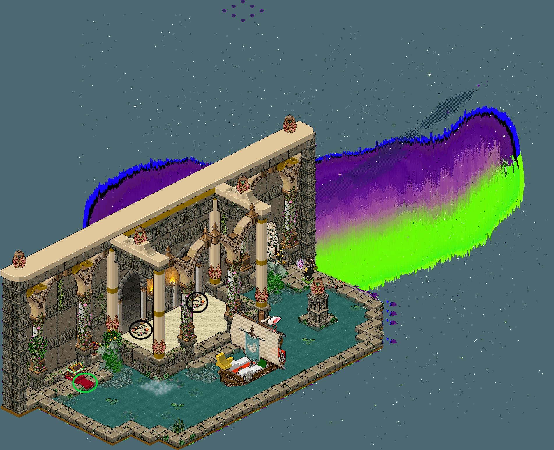 Zelba - Tour des Dieux - Entrée