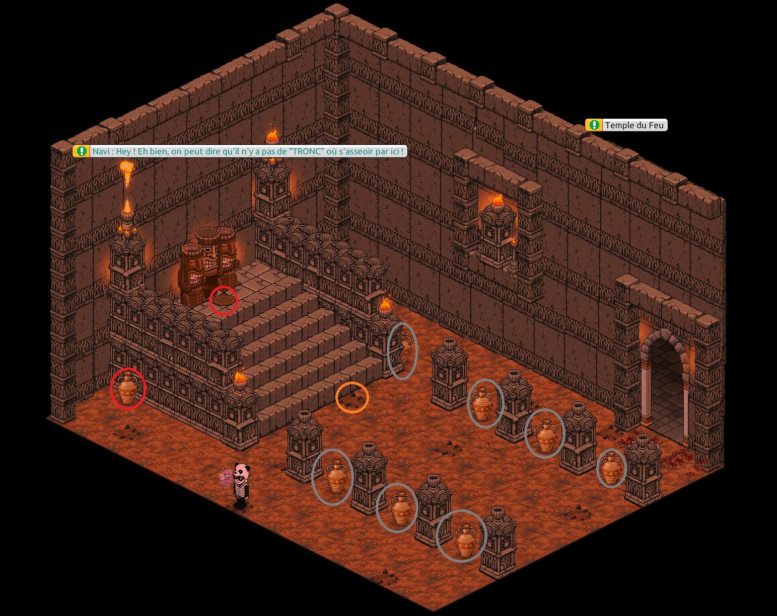 Zelba - Temple du feu - Entrée
