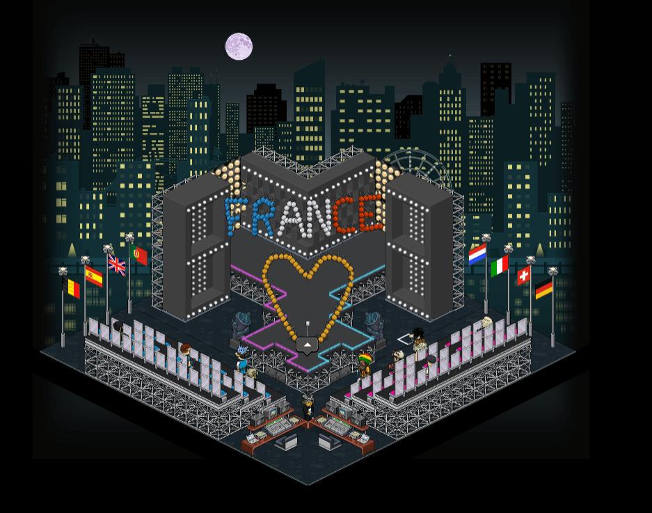 Scène de l'Eurovision