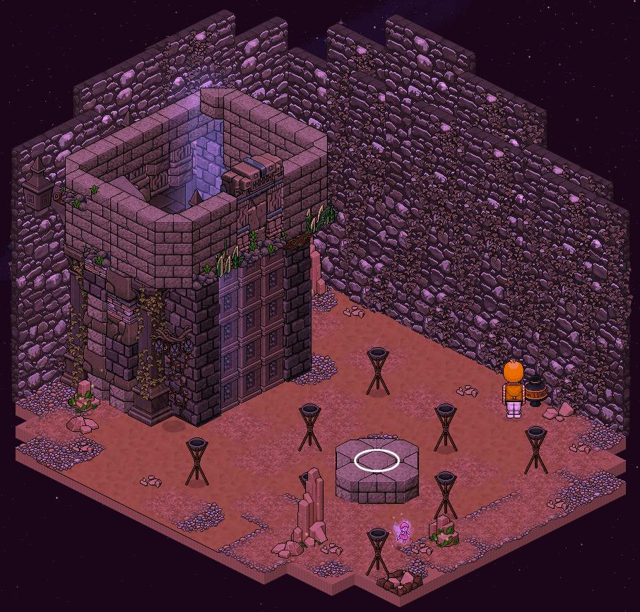 Zelba - Temple de l'Ombre - Entrée