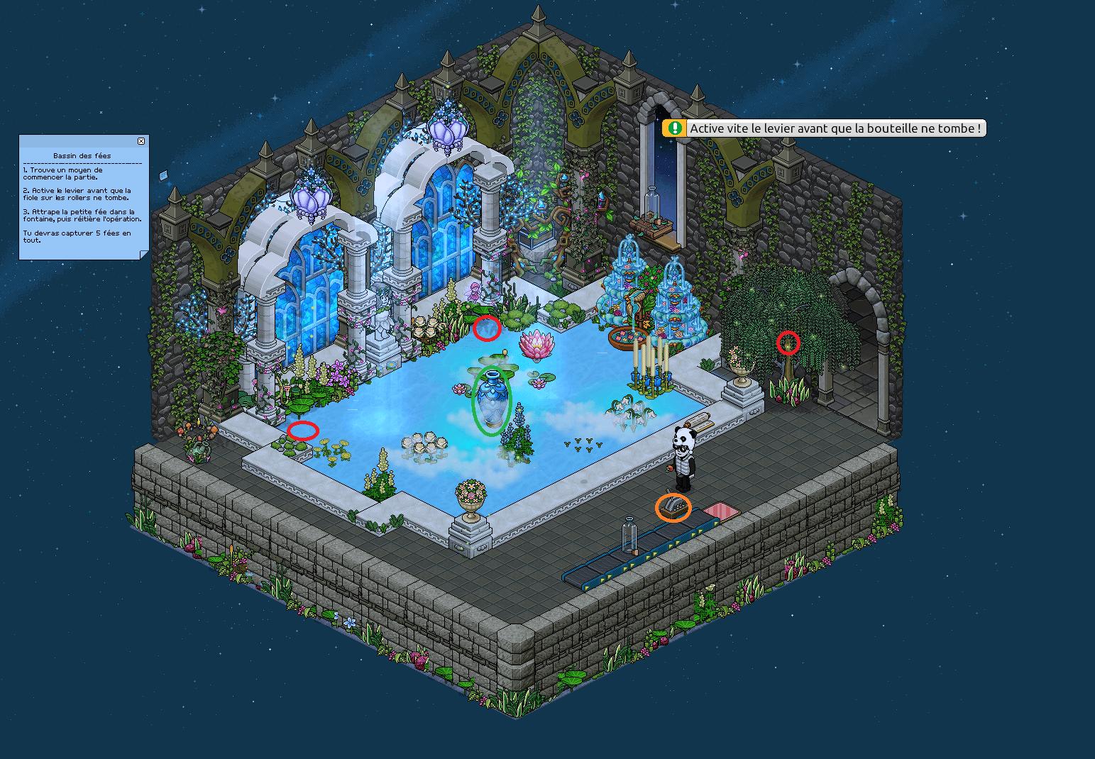 Zelba - Bassin des fées