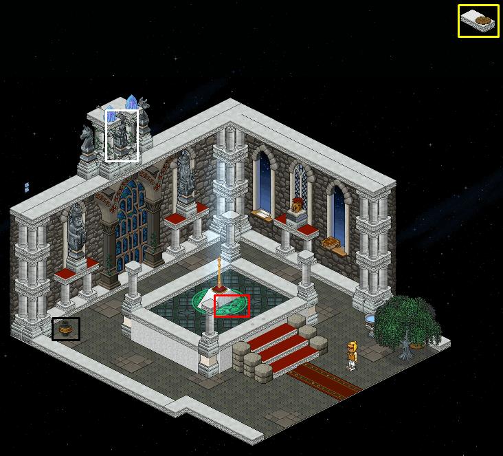 Zelba - Temple du Temps - Excalibur