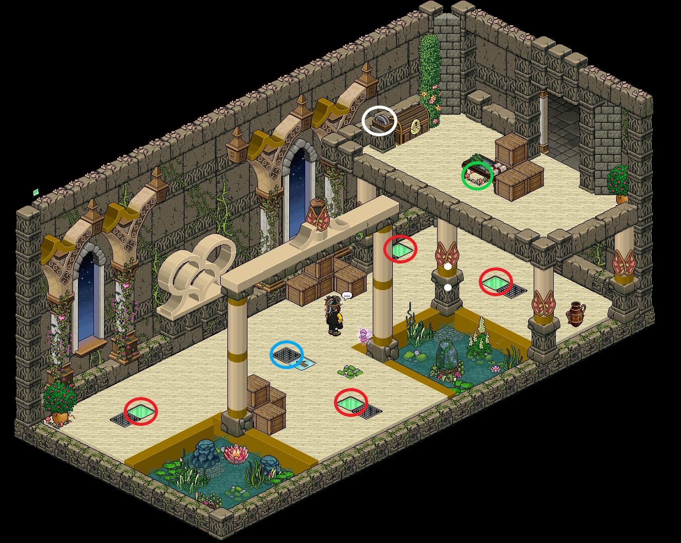Zelba - Tour des Dieux - Couloir 2