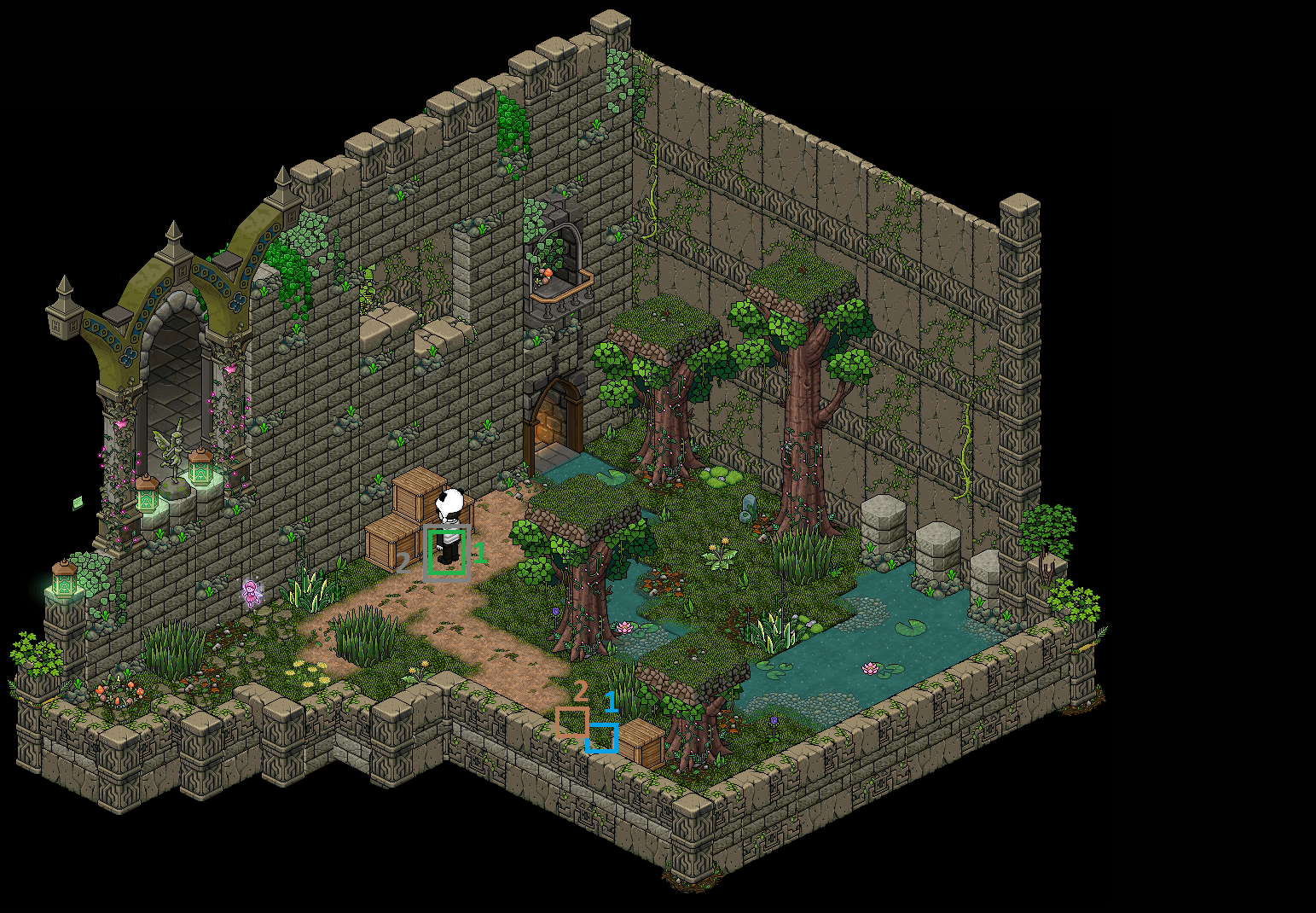 Zelba - Temple de la forêt 2 (Partie 2)