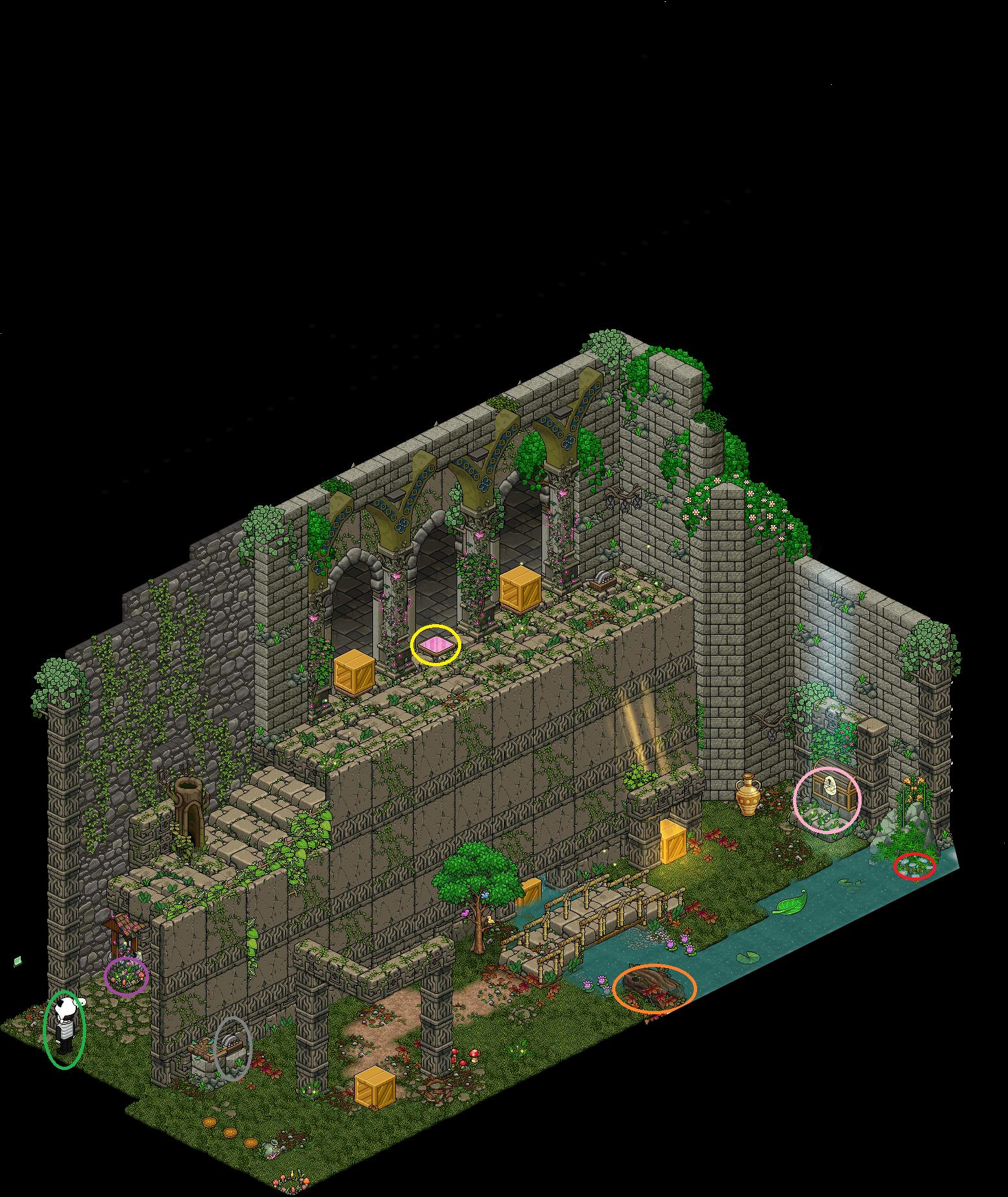 Zelba - Temple de la forêt 3