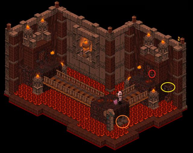 Zelba - Temple du feu - Sortie