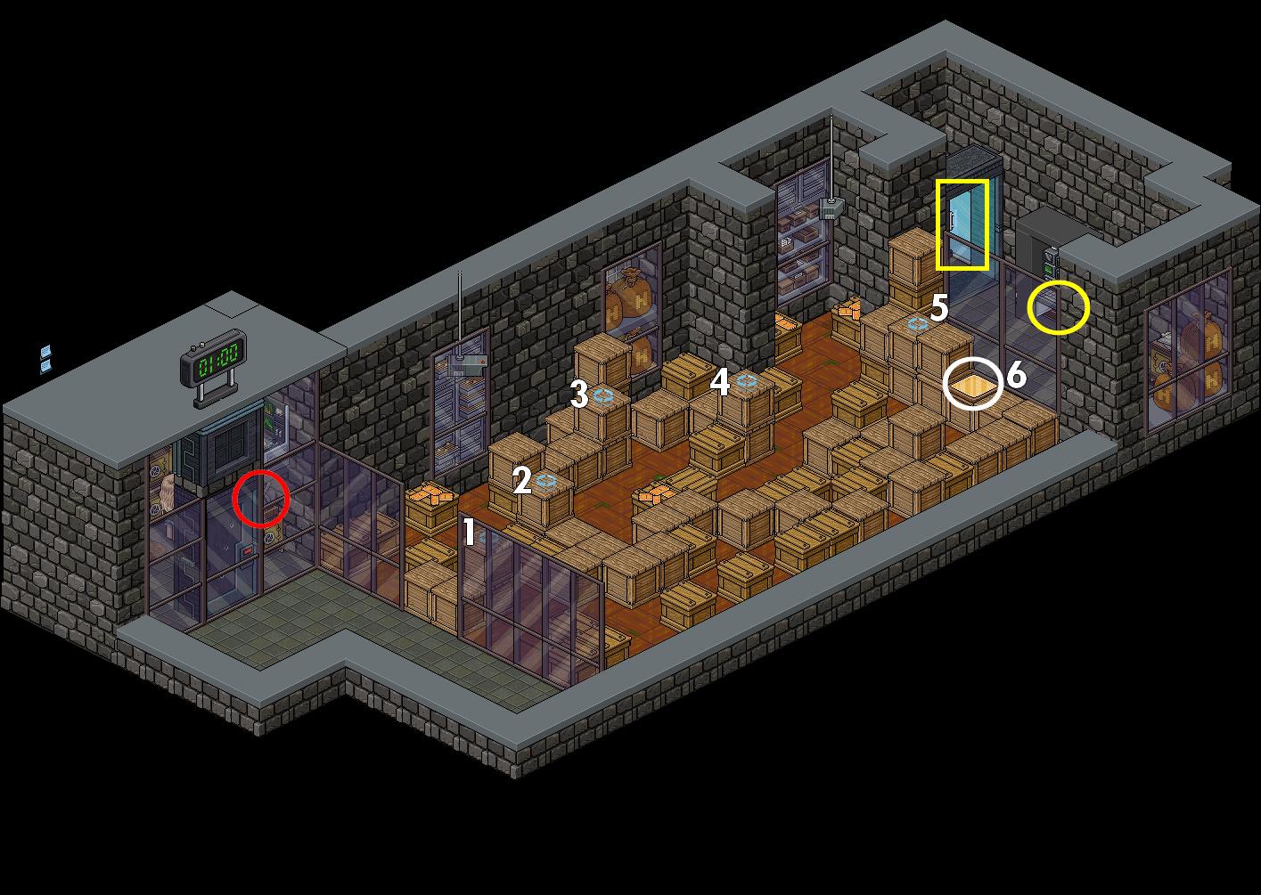 [CDP] - Fabrique de la Monnaie - Passage secret