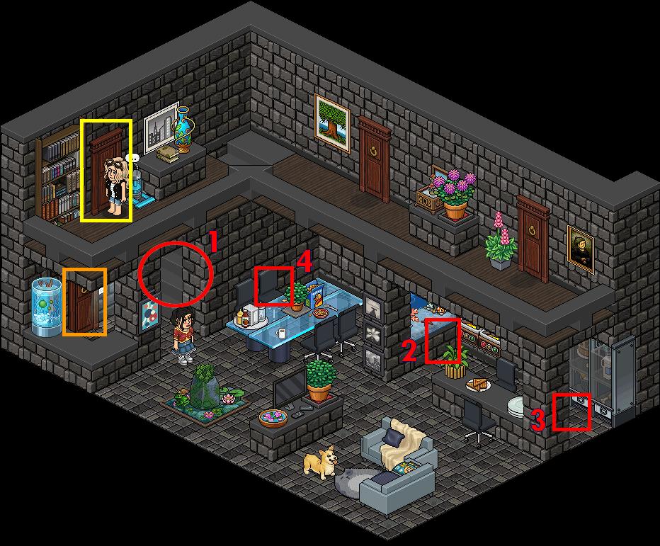 [Pride] T - Hall de la Maison