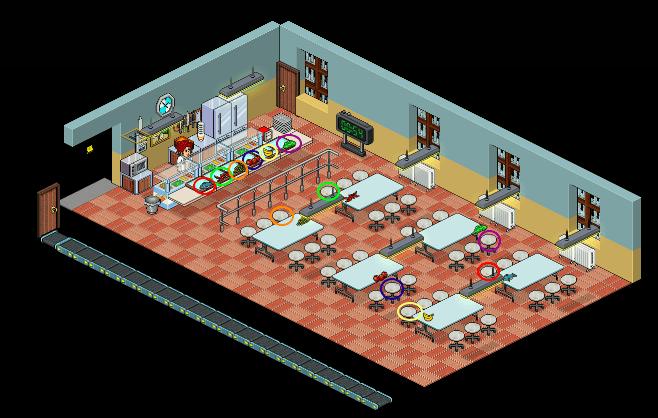 [OITNB] Le réfectoire