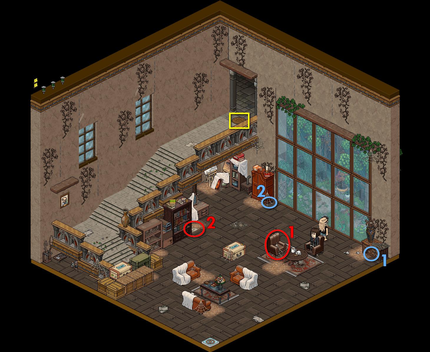 [CDP] - Maison de Tolède - Hall d'entrée