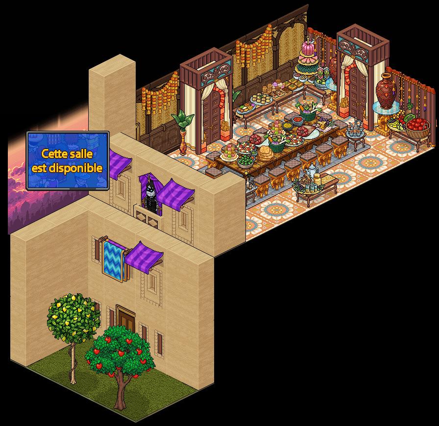 Appart Banquet au Palace du Sultan