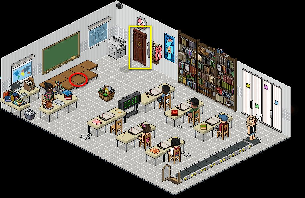 [Pride] T - Salle de classe