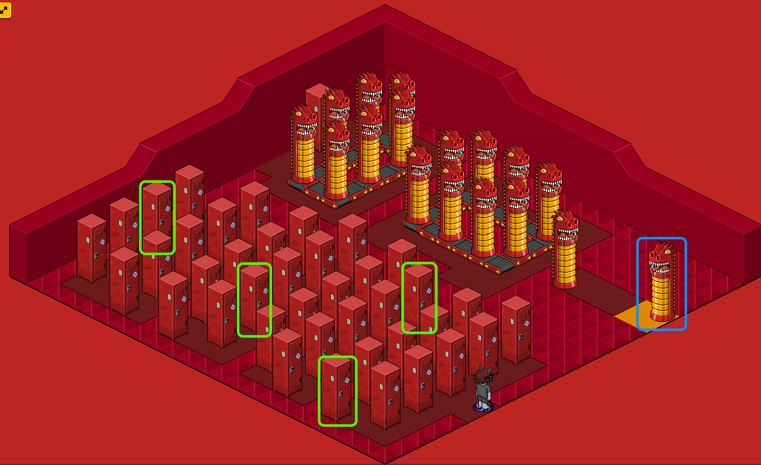 [Pride] Labyrinthe - Rouge