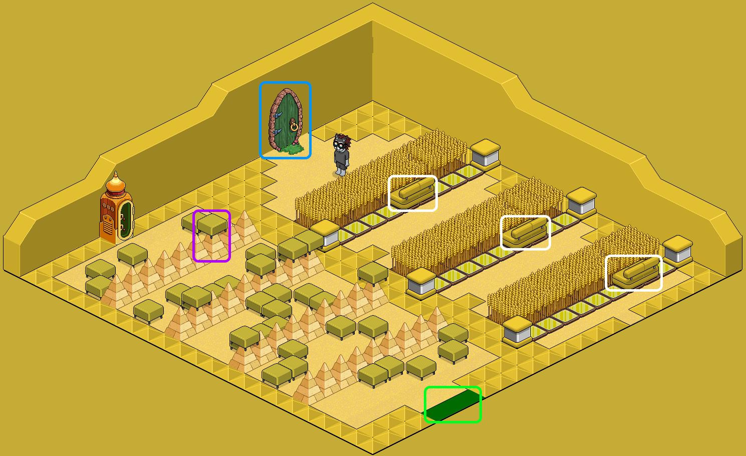 [Pride] Labyrinthe - Jaune
