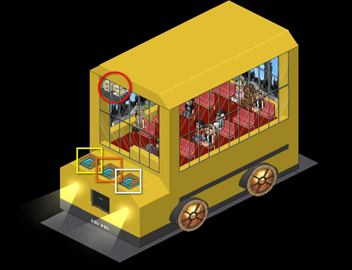 [Pride] T - Arrêts du bus