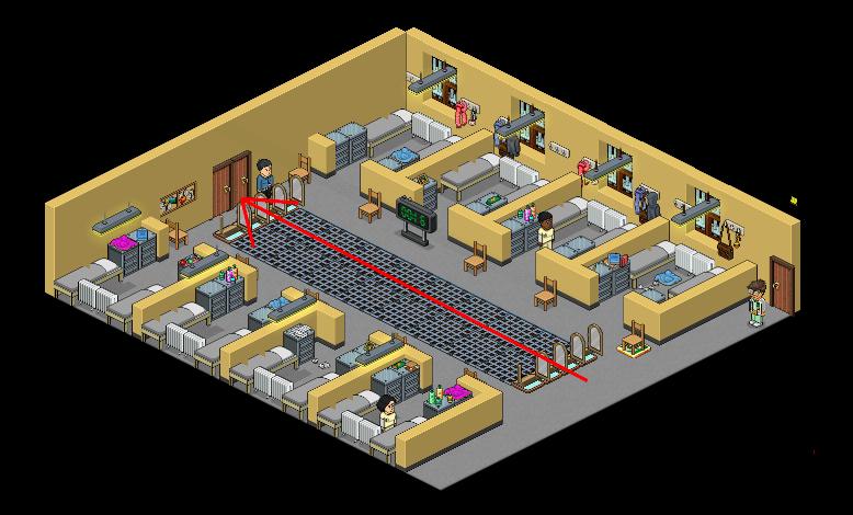 [OITNB] Le dortoir