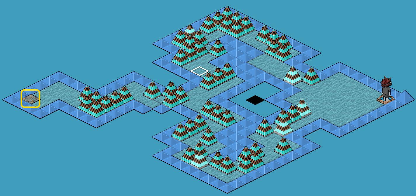 [Pride] Labyrinthe - Bleu
