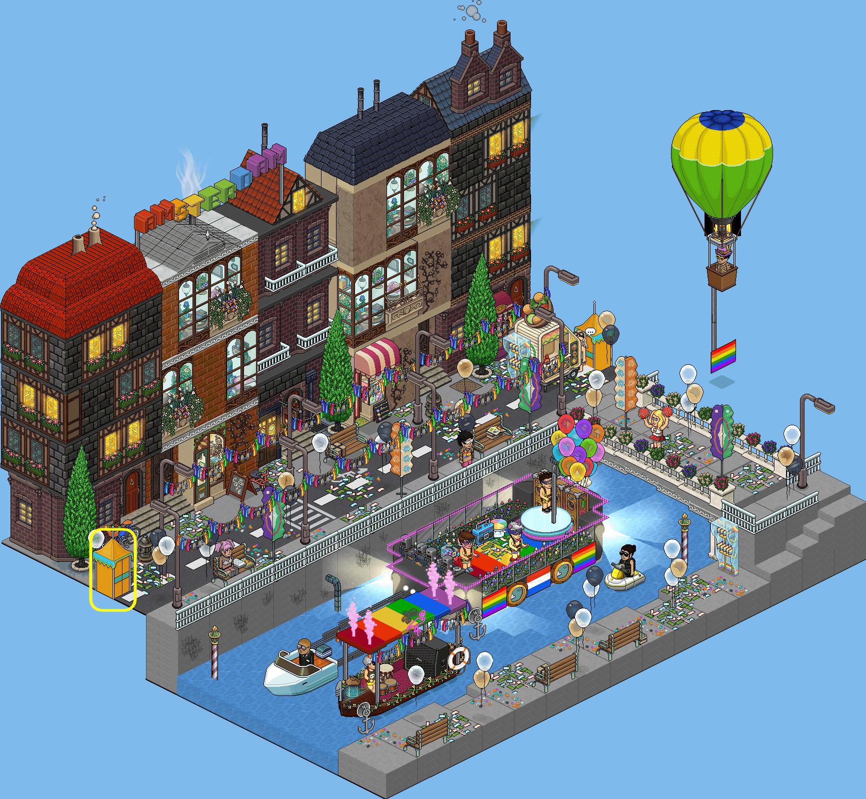 7 ~ Quartier rouge d'Amsterdam (LGBT) ~
