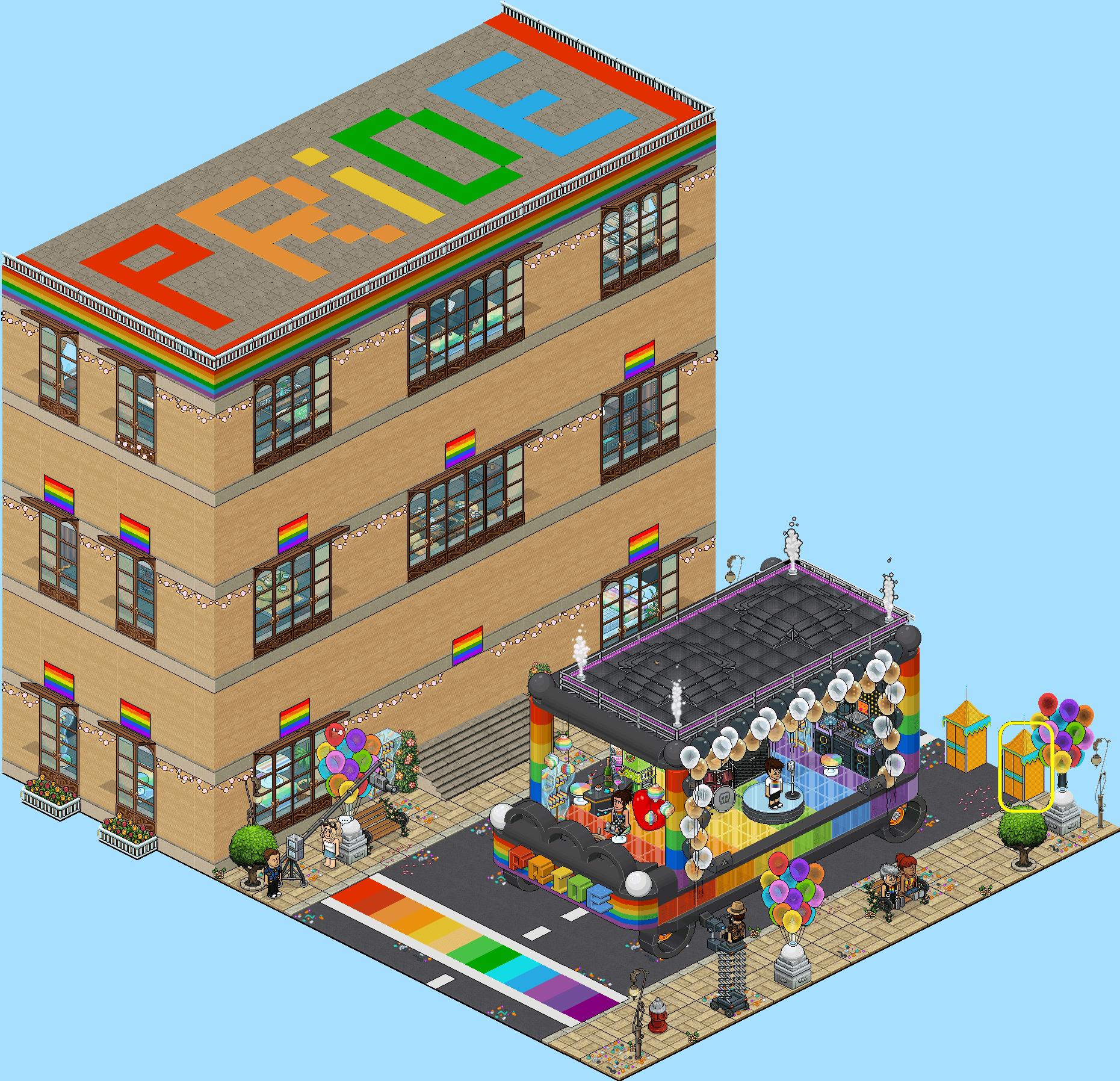 8 - Pride Habbo 2020
