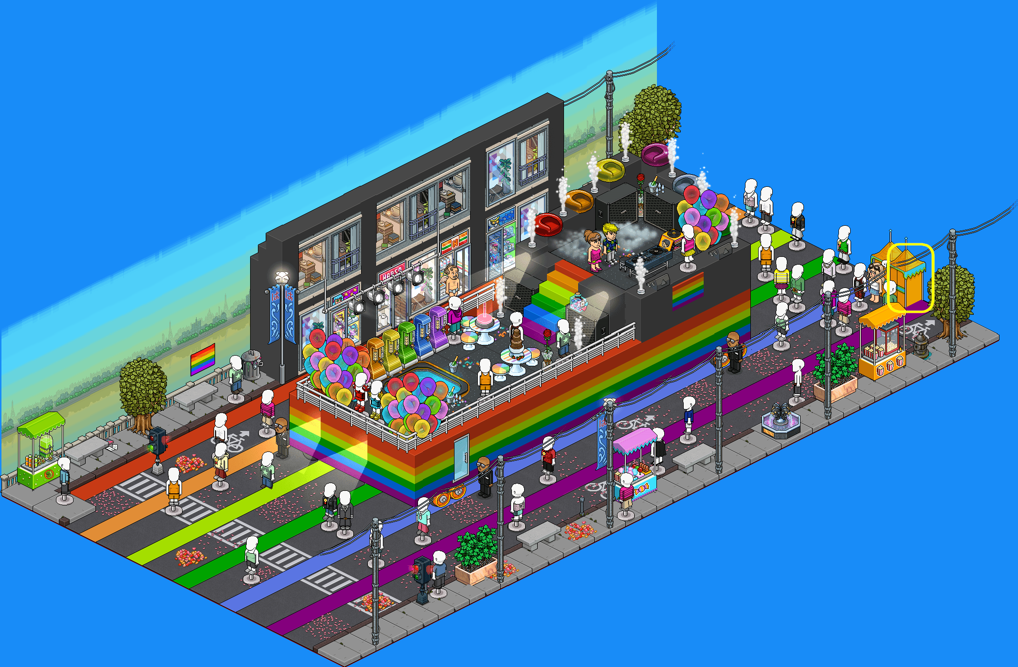 3 - Concours char LGBT 2020
