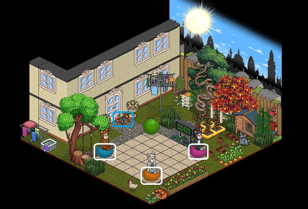[HNC - Chat] Jardin