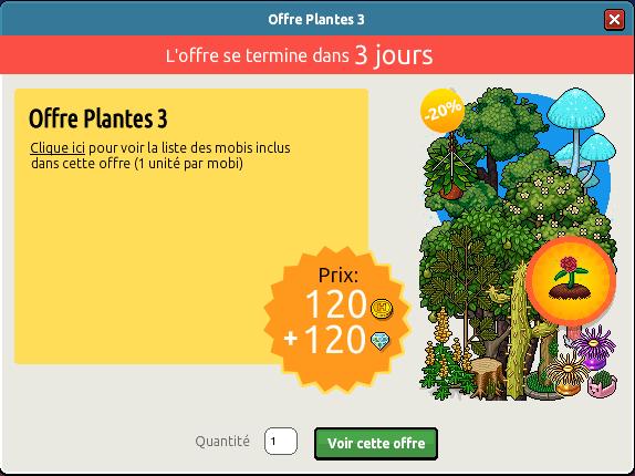 Offre Plantes n°3