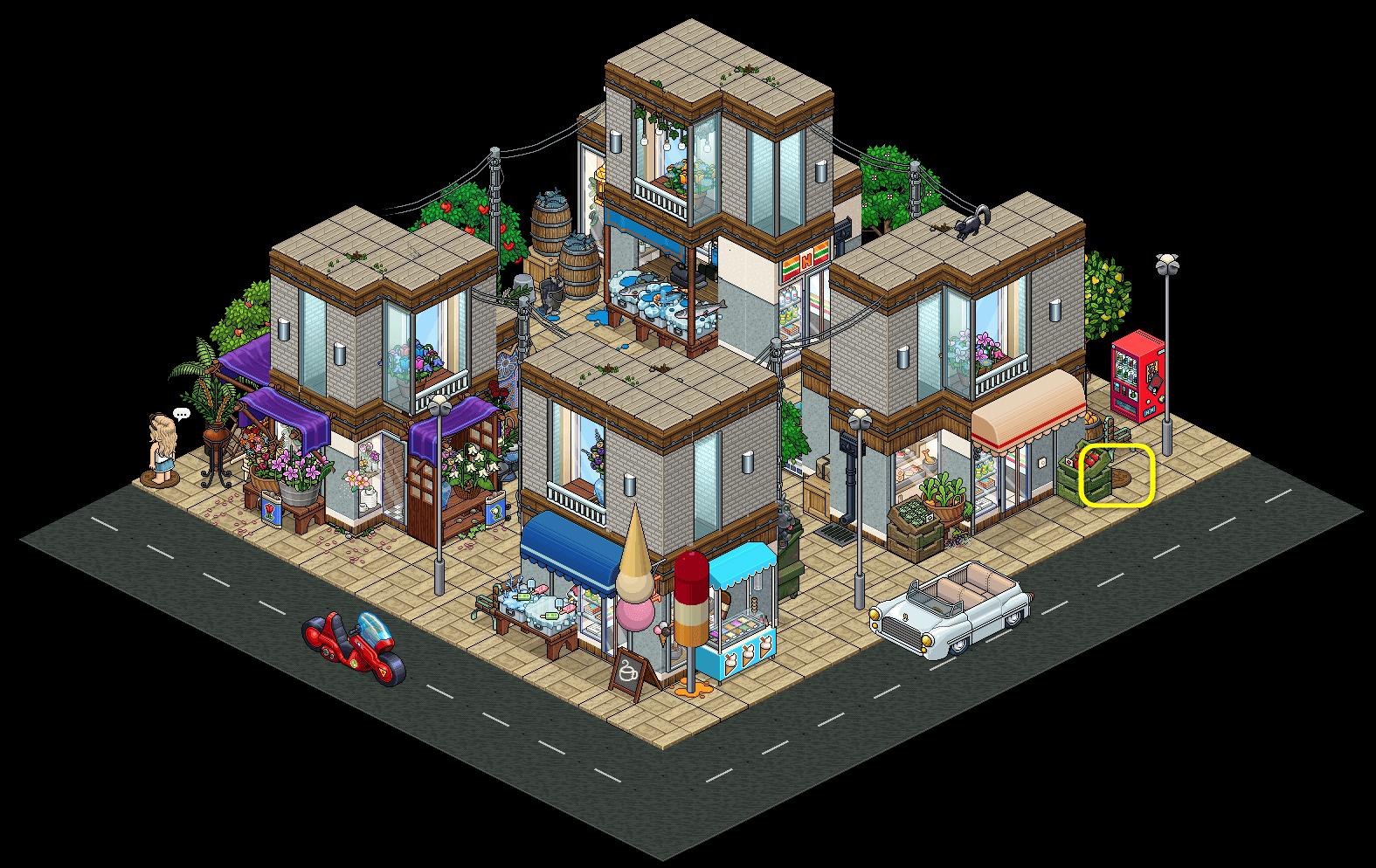 [HS] V.6 - Rue commerçante