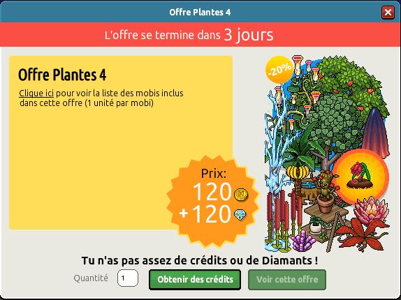 Offre Plantes n°4