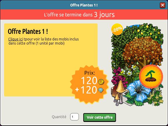 Offre Plantes n°1