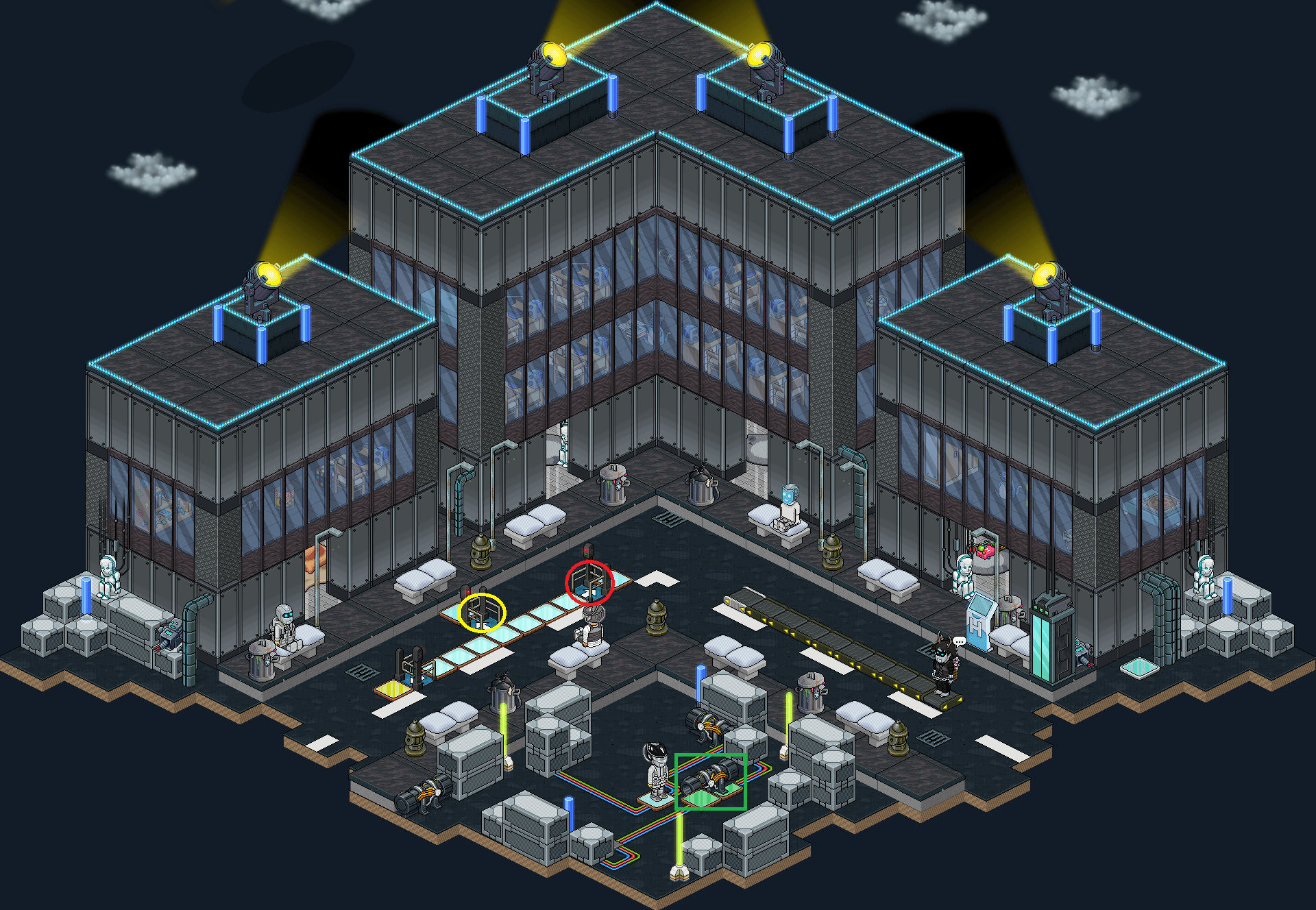 Neo-Habbo - Panne d'électricité ! (IV)