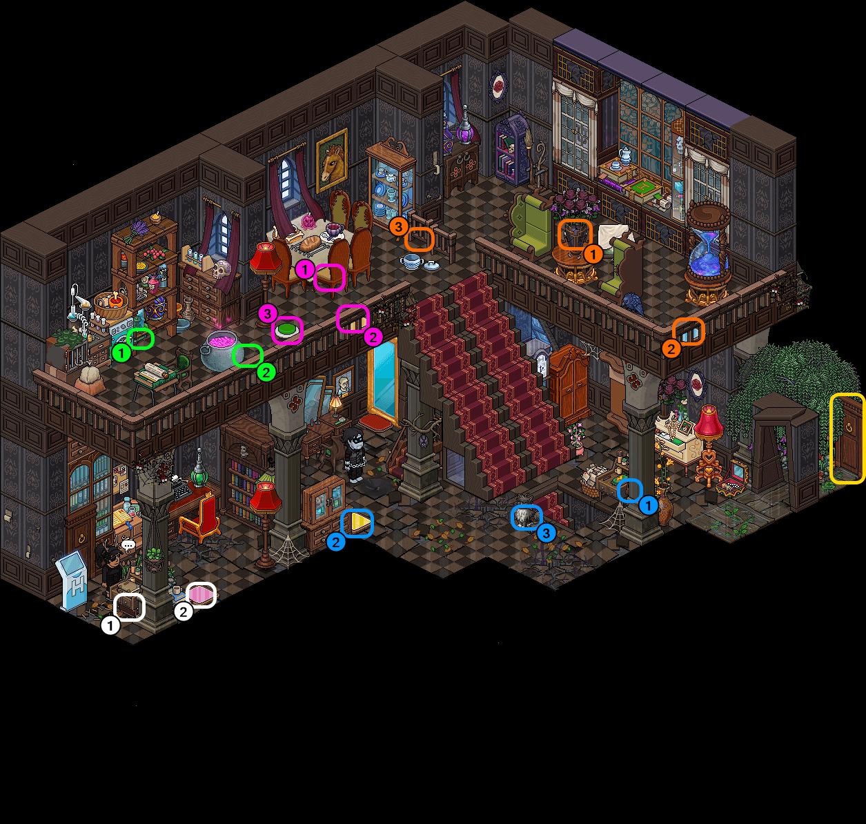 [HIH] Maison Impossible - Hall