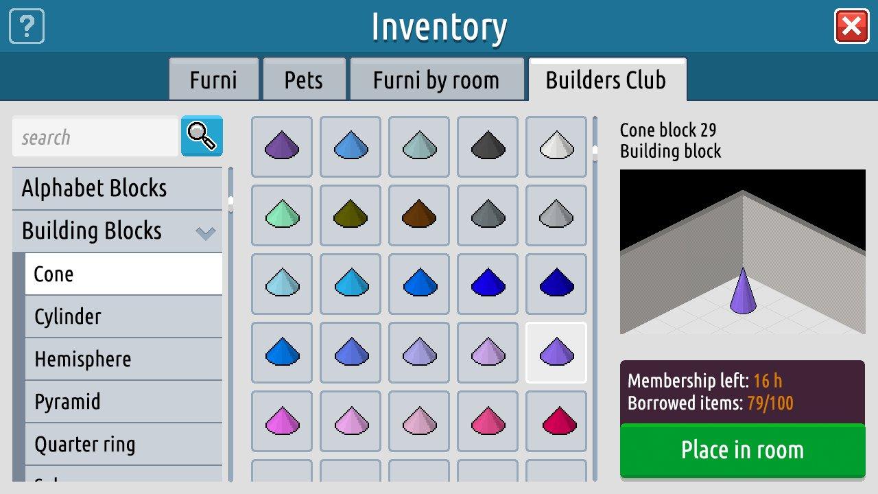 Entrepôt Builders Club