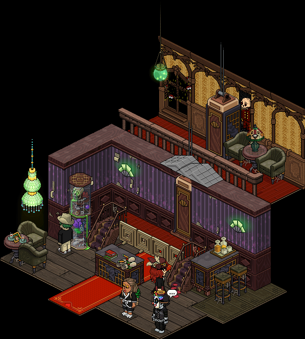 Appart Hall d'Hôtel Hanté