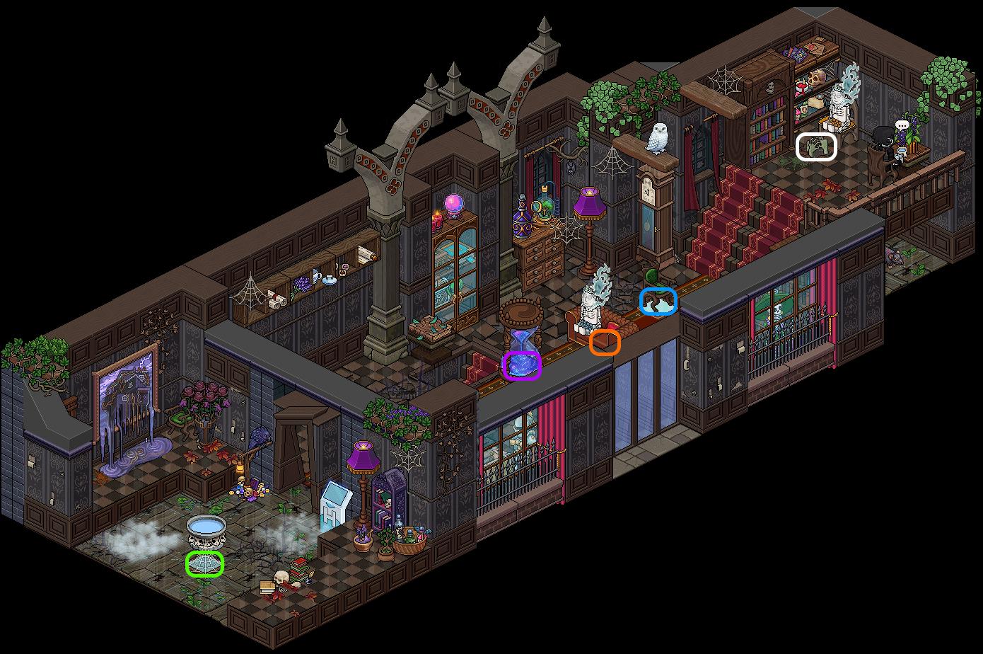 [HIH] Maison Impossible - Fantômes Solitaires