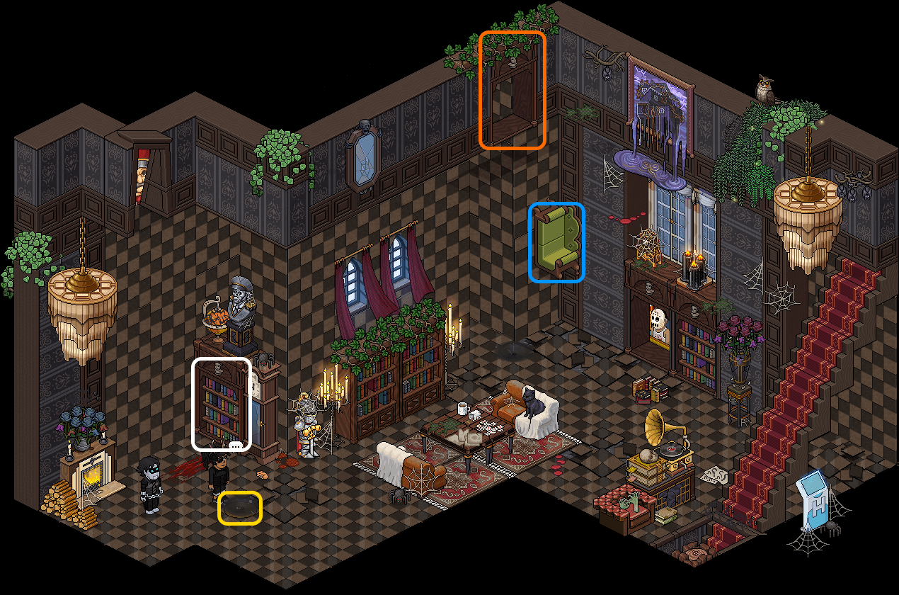 [HIH] Maison Impossible - Épouvantail démoniaque I