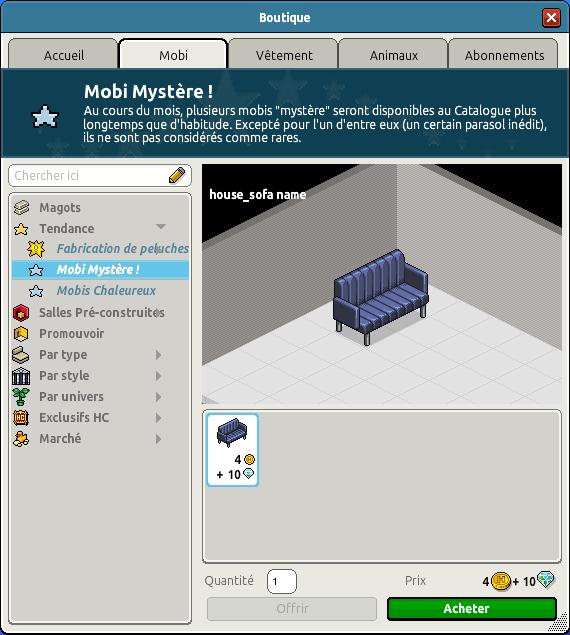 Canapé de bureau