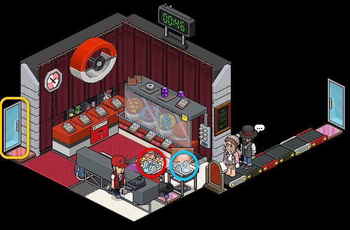 05 [Pokémon] Boutique Pokémon - Intérieur
