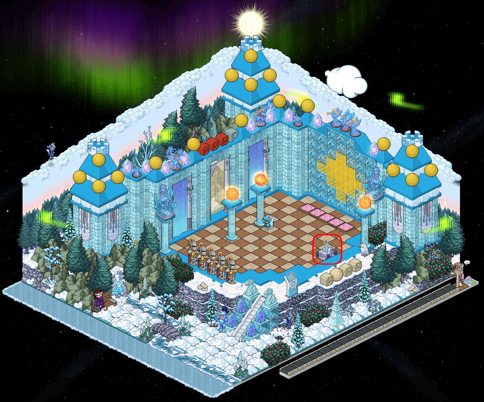 [EFC] Poney de glace III - Castle Siege