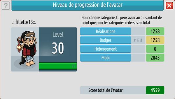 Info Niveau