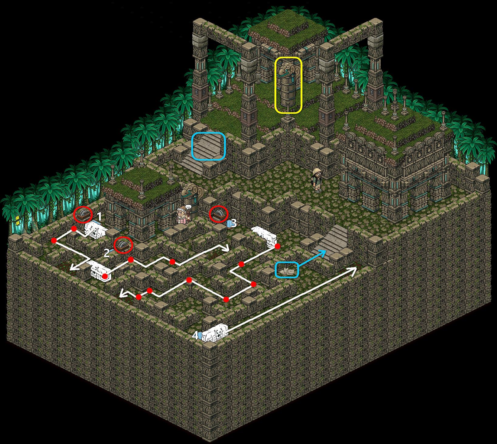 2. Ruines Tiki - A la recherche d'indices