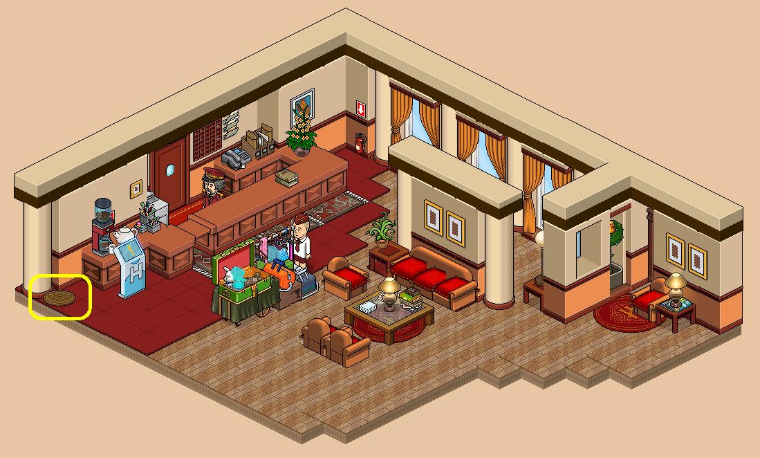 Hall d'entrée de Frank I