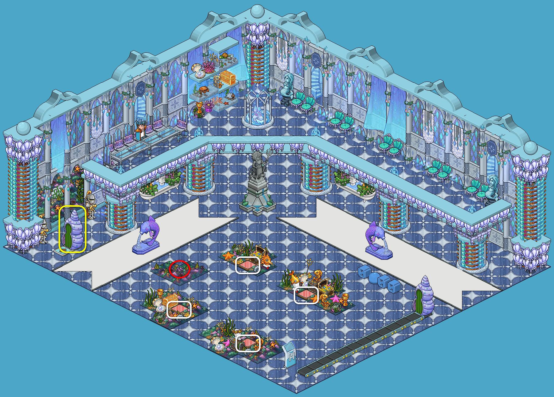 Le trésor Habbo des fonds marins - 2