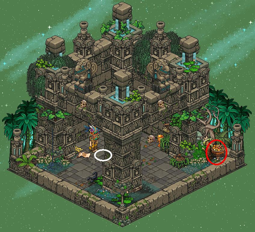 Toulou-Maya - Salle secrète