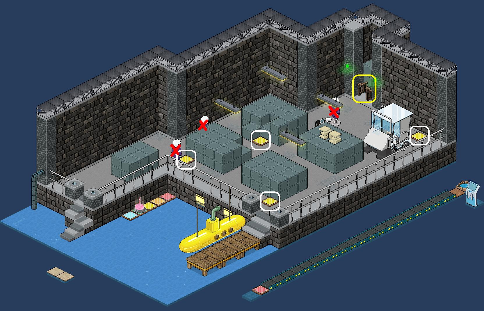 Le naufragé - Le quai